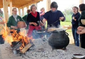 Spätmittelalterlicher Kochkurs